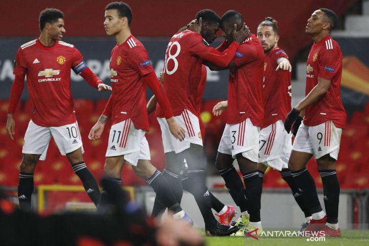 Manchester United  ke babak 16 besar Liga Europa