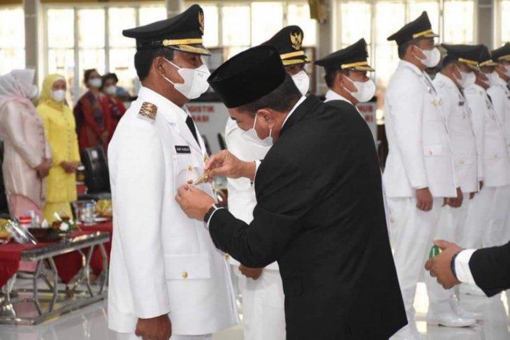 Amir Hamzah dilantik menjadi Wakil Wali Kota Binjai
