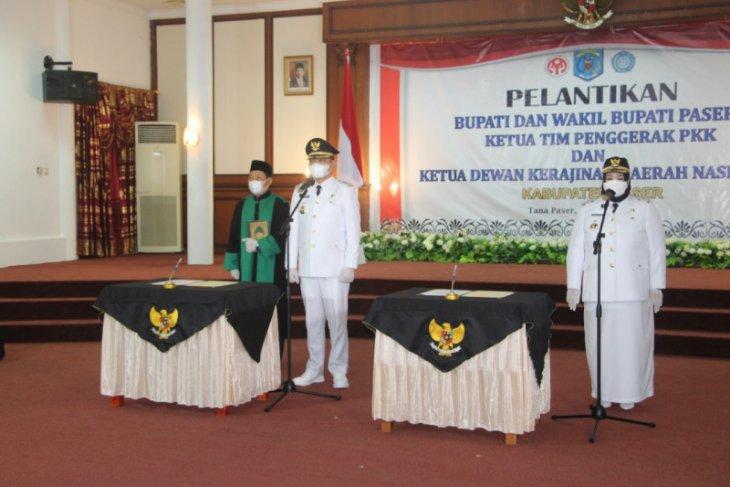 Gubernur Kaltim lantik Bupati dan Wakil Bupati Kabupaten Paser