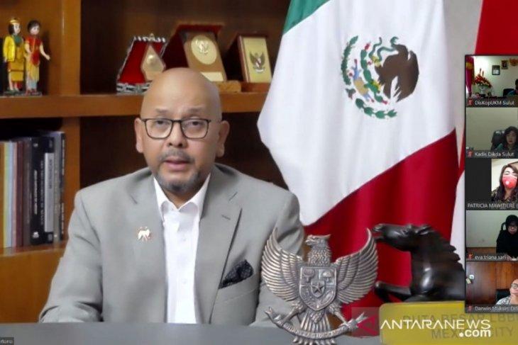 KBRI Mexico-Pemprov Sulut rapat koordinasi terkait promosi ekonomi