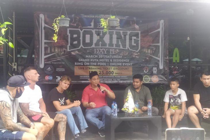 Pino Bahari libatkan petinju asing di pertandingan tinju di Bali