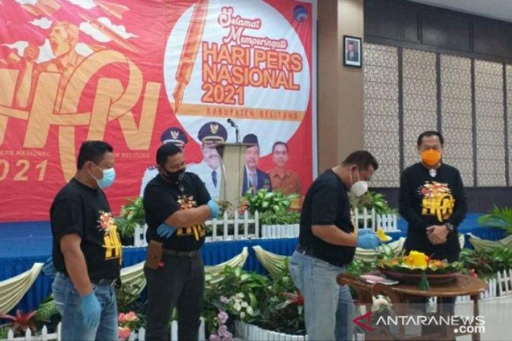Pemkab Belitung gelar resepsi peringatan HPN ke-75