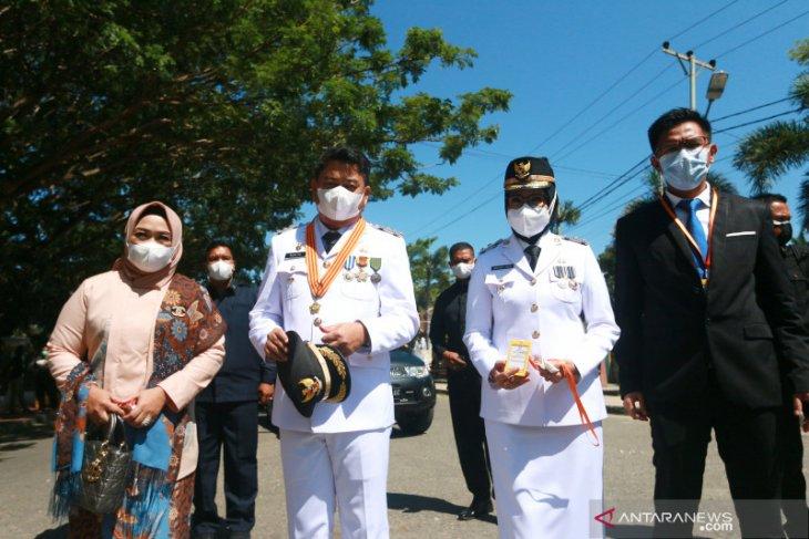 Hamim-Merlan resmi pimpin Kabupaten Bone Bolango