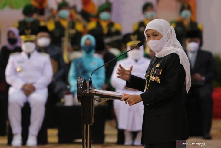 Pelantikan Kepala Daerah di Jawa Timur