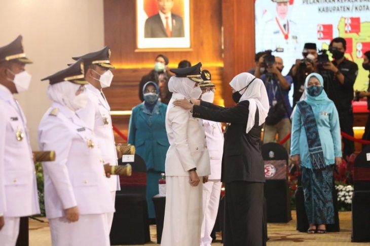 Usai dilantik, Bupati dan Wabup Banyuwangi komitmen segera bekerja