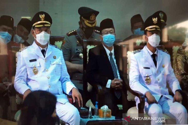 Gibran-Teguh resmi menjabat Wali Kota dan Wawali Surakarta