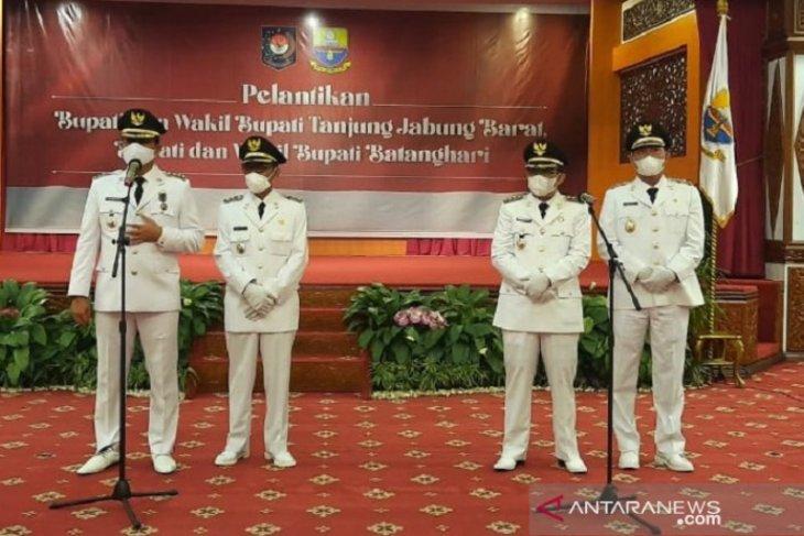 Penjabat Gubernur Jambi menekankan PEN  sebagai prioritas bupati baru
