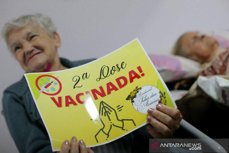 Brazil alami kematian harian terburuk sejak pandemi mulai