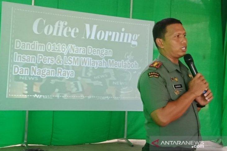 Kodim Nagan Raya tingkatkan pengawasan untuk pemulihan ekonomi petani