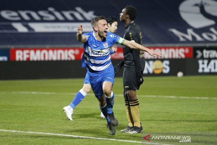 Liga Belanda: PEC Zwolle akhiri tren buruk saat hantam Heerenveen 4-1