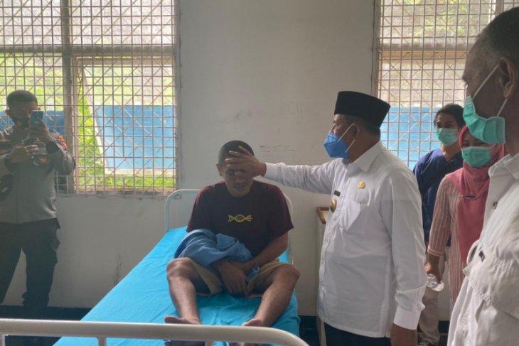 Gubernur Maluku Utara pantau kondisi nakes di RSJ Sofifi