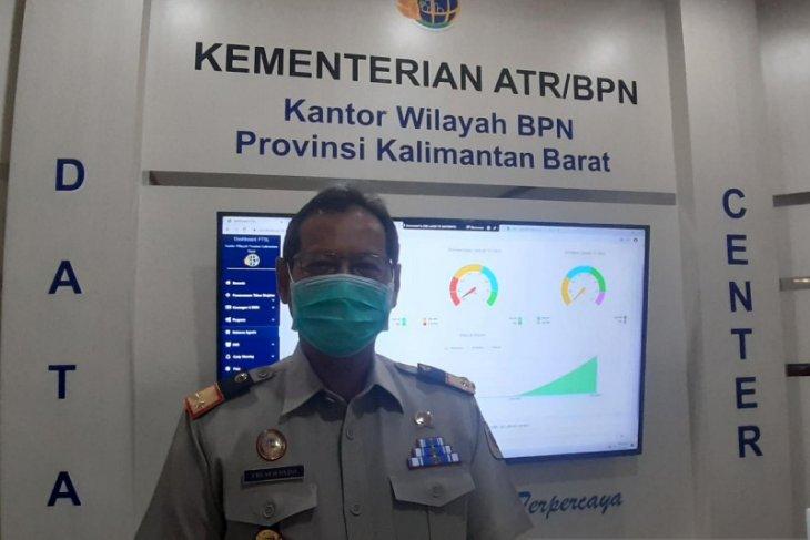 BPN Kalbar siap berikan data pemilik tanah untuk penanganan Karhutla