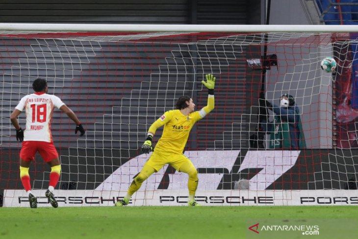 Liga Jerman, Leipzig bangkit dari ketertinggalan dua gol untuk tundukkan Gladbach