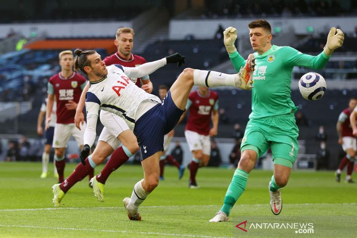 Liga Inggris: Bale gemilang saat Tottenham cukur Burnley 4-0