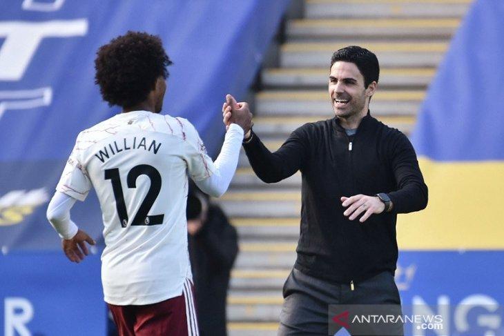 Karakter dan ketenangan Arsenal tundukkan Leicester dipuji