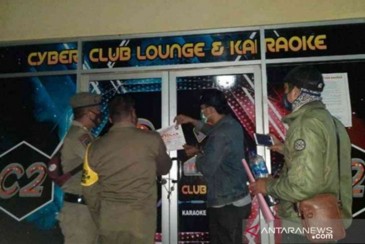 Langgar PPKM, 18 tempat usaha di Bekasi disegel