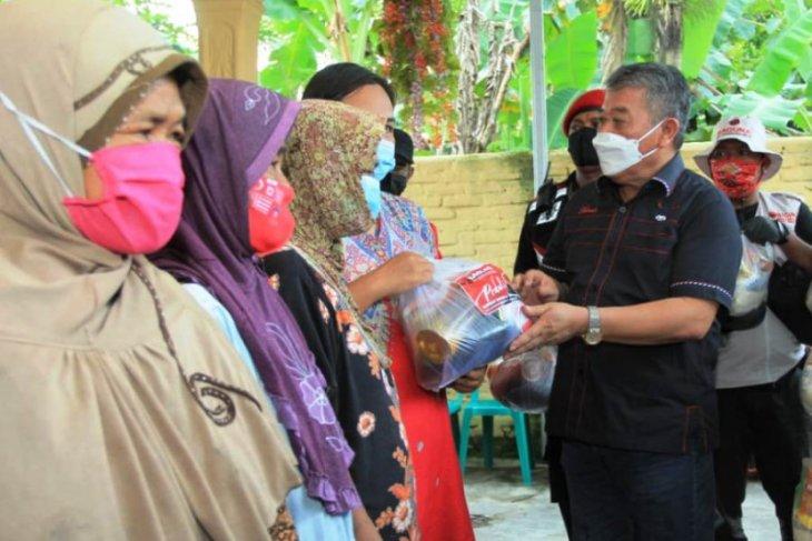 Baguna PDIP Jatim komitmen hadir beri bantuan meski ke pelosok bencana