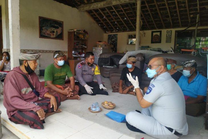 Hari Minggu, tak halangi Jasa Raharja di Bali  layani masyarakat