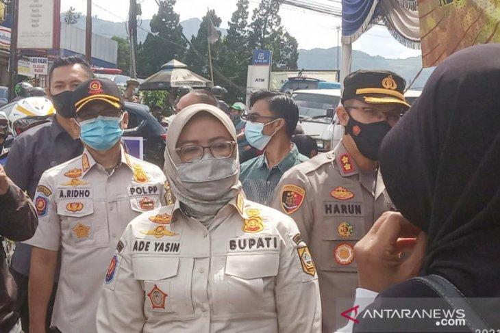 Jadi daerah terendah disiplin penggunaan masker, Pemkab Bogor masifkan kampanye prokes
