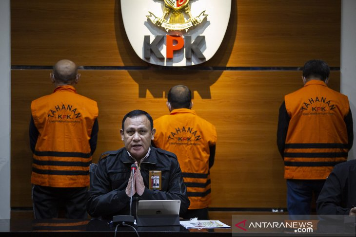 Gubernur Nurdin Abdullah diduga terima Rp5,4 miliar