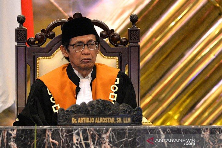 Jenazah Artidjo dimakamkan di Kompleks Pemakaman UII Yogyakarta