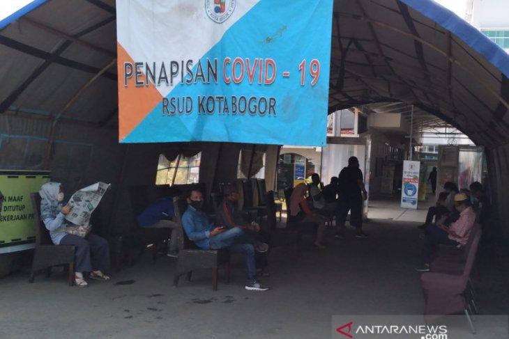 Ada sepuluh pasien positif COVID-19 di Kota Bogor meninggal dalam sepekan