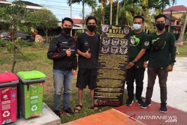 HSFCI Chapter Pontianak lakukan aksi nyata mencintai kebersihan