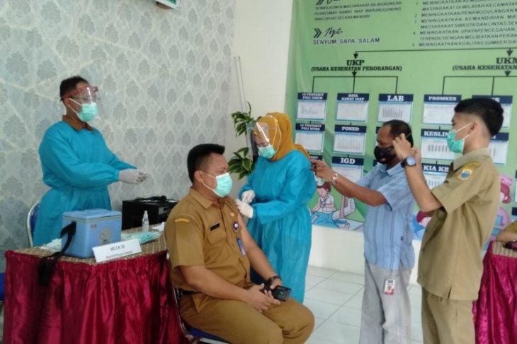 6.494 petugas pelayanan publik di Lebak jadi sasaran vaksinasi COVID-19