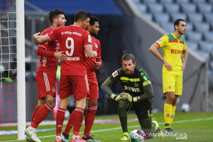 Bayern akhiri krisis kecil dengan menang besar 5-1 atas Cologne