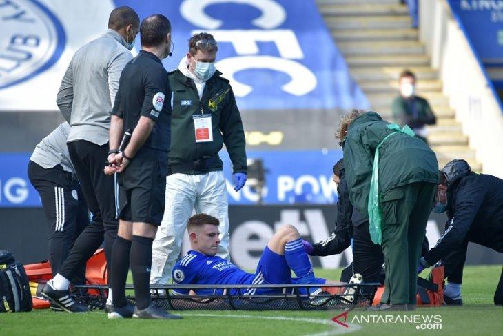 Leicester kehilangan Harvey Barnes enam pekan