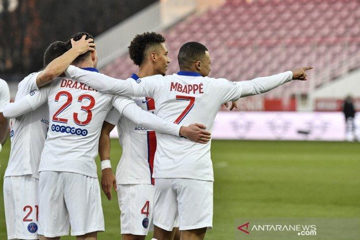 Klasemen Liga Prancis, PSG tempel ketat Lille dengan jarak dua poin