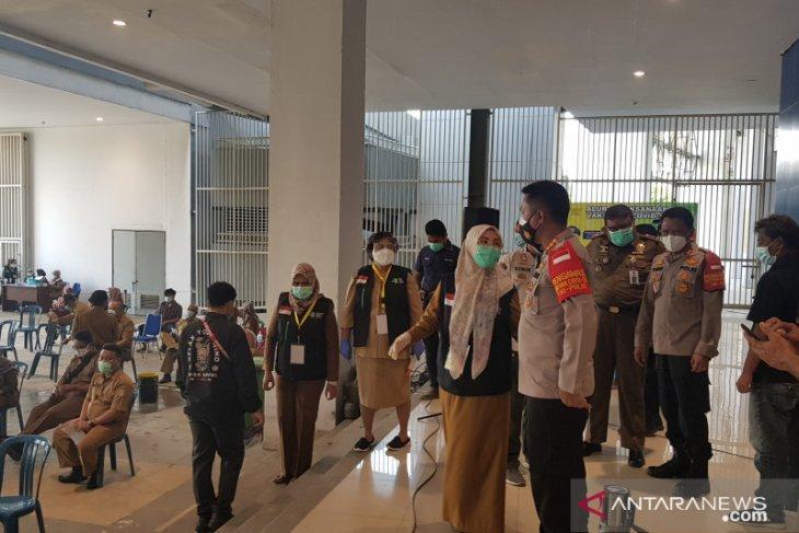1.952 anggota Polrestro Bekasi dijadwalkan dapat suntikan vaksin COVID-19