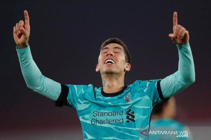 Firmino kembali berlatih bersama Liverpool