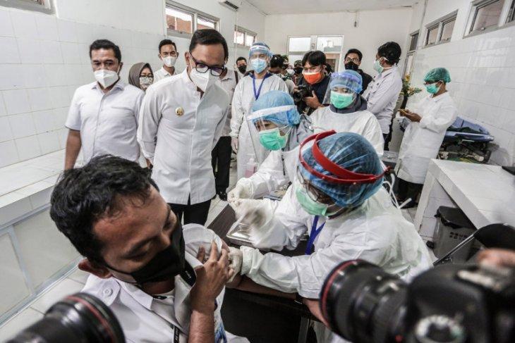Pemkot Bogor jadwalkan vaksinasi COVID-19 tahap kedua mulai Maret hingga April