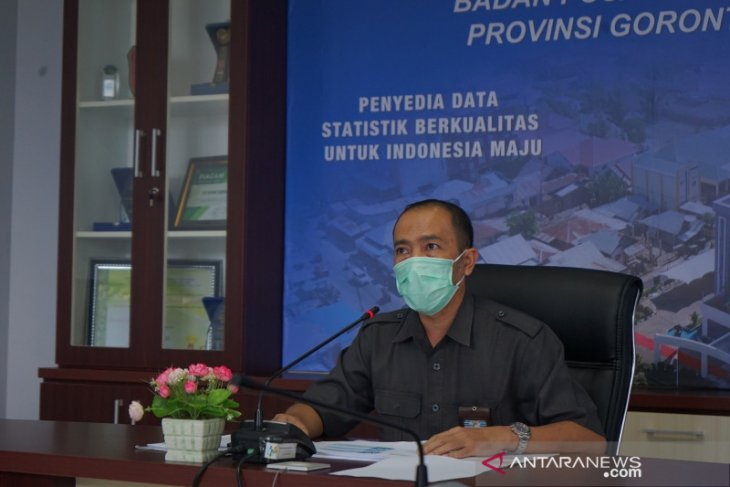 BPS mencatat Gorontalo inflasi 0,22 persen