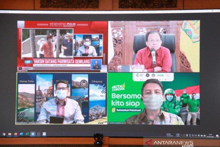 Gubernur: Vaksinasi tingkatkan kepercayaan pariwisata Bali