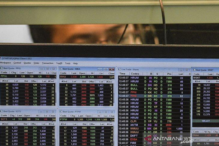 IHSG melemah seiring koreksi bursa saham global