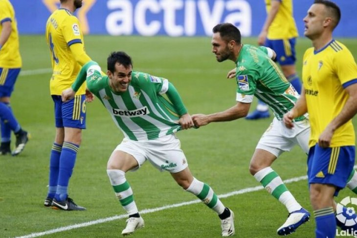 Kalahkan Cadiz 1-0, Real Betis naik ke posisi enam