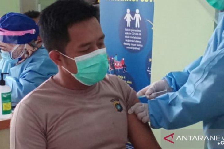 184 orang di Bangka ikuti vaksinasi COVID-19 tahap kedua