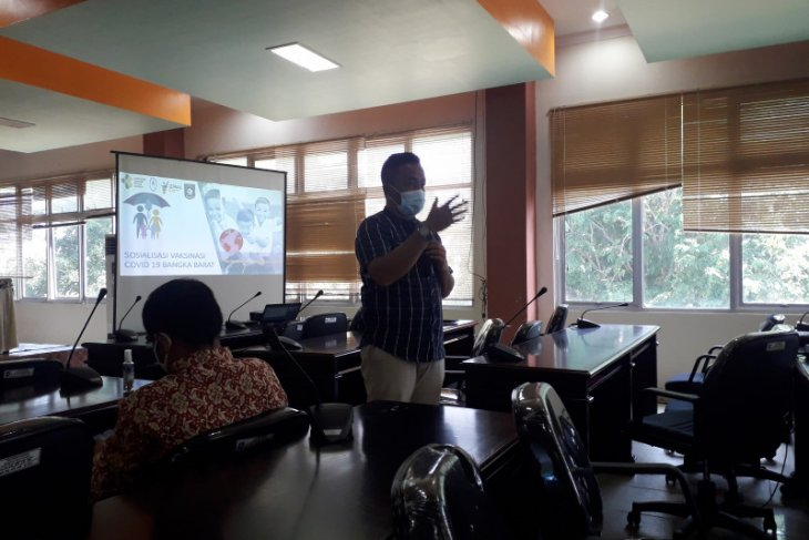 1.101 warga Bangka Barat akan divaksin pada gelombang dua