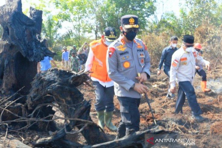 Kapolda: TNI, Polri, BPBD fokus lakukan pemadaman karhutla di Aceh