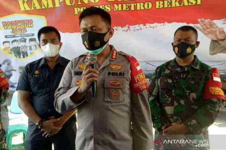 Satgas COVID-19 Bekasi bidik orang tua asuh membangun Kampung Tangguh Jaya