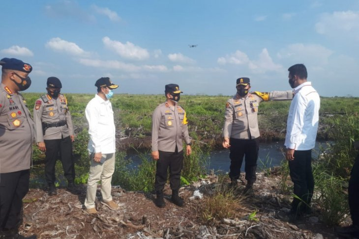 Ketua DPRD dan Kapolda pantau kesiapan pencegahan karhutla
