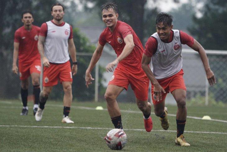 Persija mengawali persiapan Piala Menpora dengan tempa fisik pemain