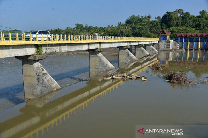 Air Irigasi Menurun Selama Kemarau di Aceh Besar