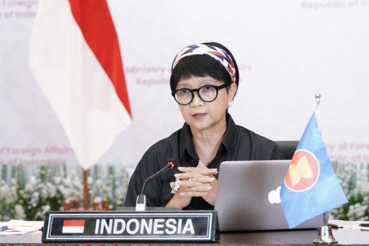 Menlu: Indonesia serukan penghentian kekerasan di Myanmar