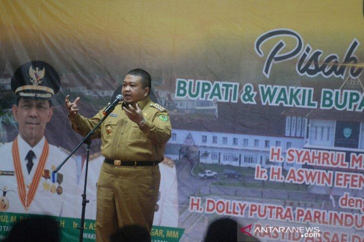 Dolly: Kemajuan pembangunan  Tapsel tidak bisa dinafikan berkat sosok Syahrul