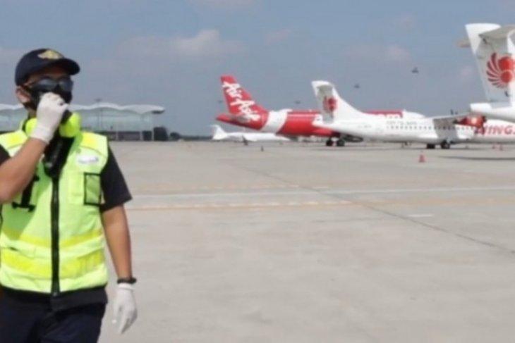 Abu vulkanik Sinabung tidak ganggu penerbangan di Kualanamu