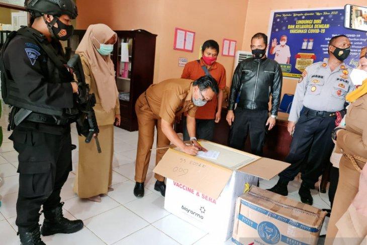 Vaksin COVID-19 untuk TNI dan Polri di Gorontalo Utara telah tersedia