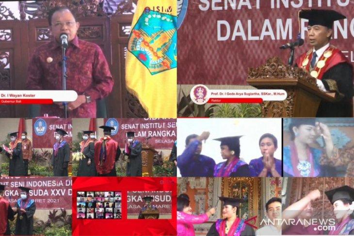 ISI Denpasar: Kualitas seni jangan turun saat pandemi